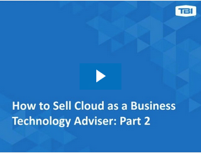 How to Sell Cloud Webinar