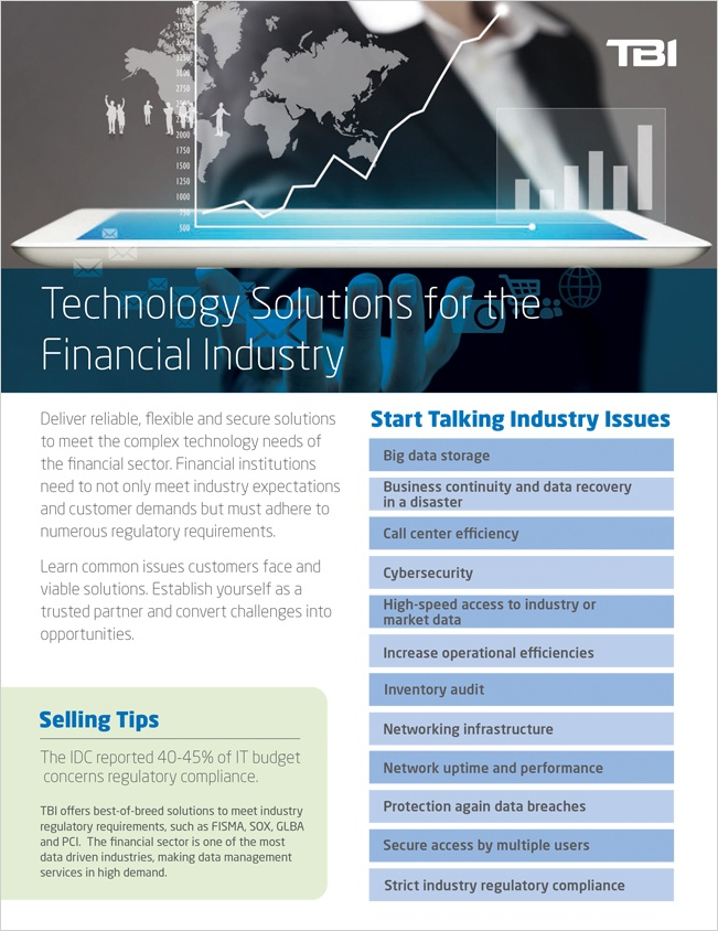 Technology Solutions for Financial Industry - TBI