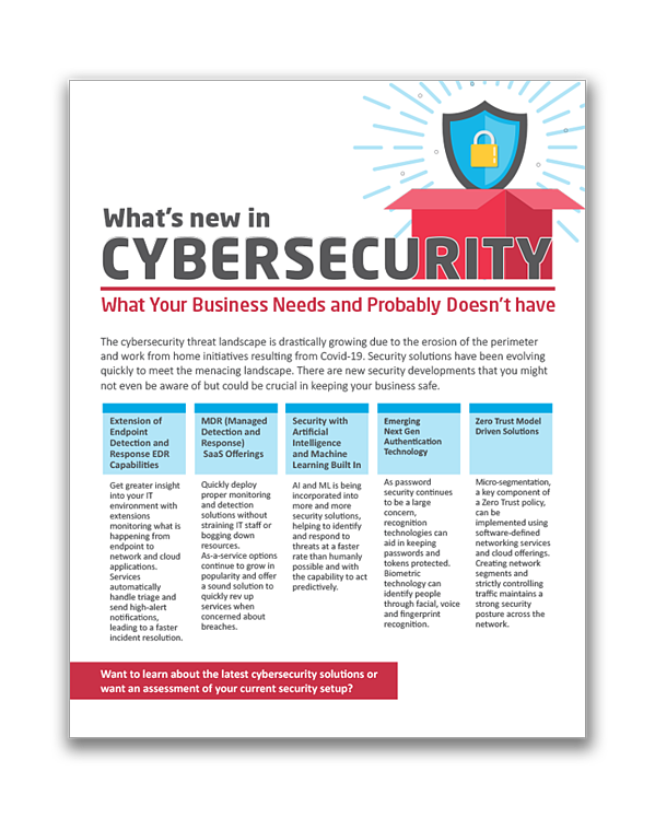 Whats New In Cybersecurity