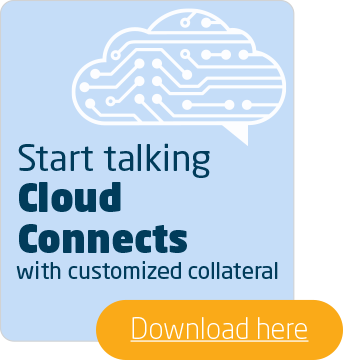 Cloud Connects customized collateral