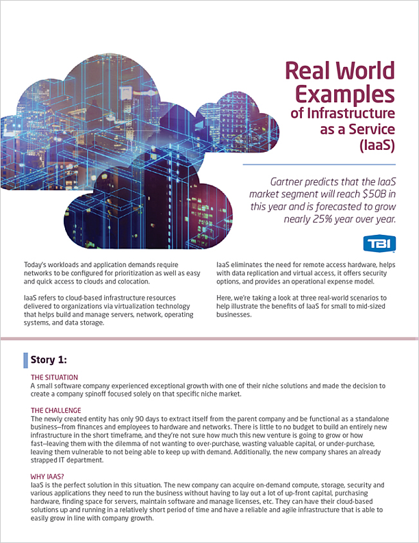 Real World Examples of IaaS
