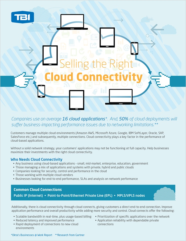 TBI Cloud Connectivity Selling Guide